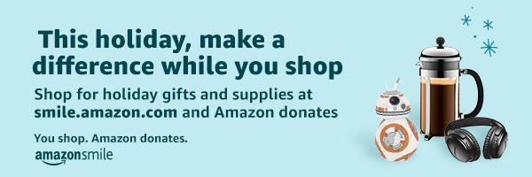 Amazon Smile Holiday Detailed