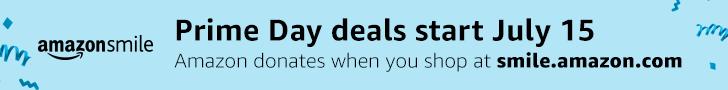Amazon Smile Prime Days Banner